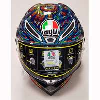 Agv Casco Pista Gp R Rossi Winter Test 2018 - 2