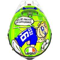 Agv Casco Pista GP R Carbon Valentino Rossi Mugello 2017 Limited Edition
