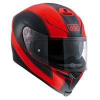 Agv K-5 S Enlace Rosso Opaco-nero