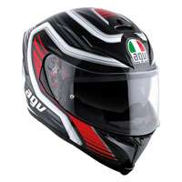 Agv K-5 S Firerace Nero-rosso