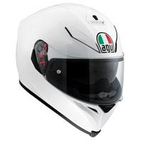 Agv K-5 S Mono Pearl White