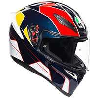 Agv K1 E2205 Pitlane Blue Red Yellow