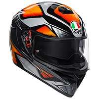 Agv K-3 Sv Liquefy Plk Black Orange