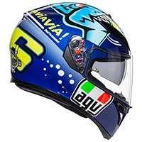 Agv K-3 Sv Rossi Misano 2015 Helmet