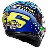 Agv K-3 Sv Rossi Misano 2015 Helmet - 3