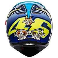 Agv K-3 Sv Rossi Misano 2015 Helmet - 4