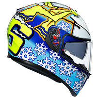 Agv K-3 Sv Rossi Winter Test 2016