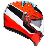 Casque Agv K-3 Sv Attack Rouge