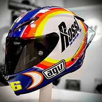 Agv Pista Gp Rr Rossi Winter Test 2005 Ltd