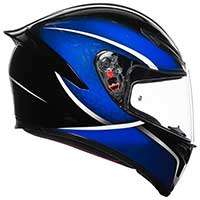Agv K1 E2205 Qualify Nero Blu