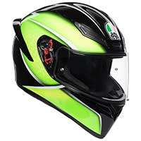 Agv K1 E2205 Qualify Nero Lime