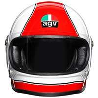 Agv X3000 Super Agv Casque Rouge Blanc