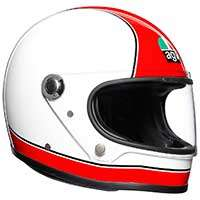 Agv X3000 Super Agv Helmet Red White