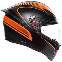 Agv K1 E2205 Warm Up Arancio Nero