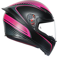 Agv K1 Warm Up Helmet Black Pink