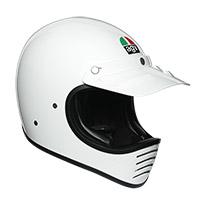 Casco Agv X101 Mono Bianco