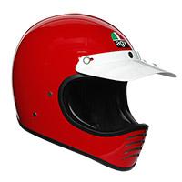 Casco Agv X101 Mono Rosso