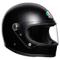 Agv X3000 Solid Nero Opaco