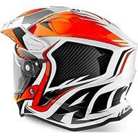 Airoh On-off Commander Casque Orange Fluo