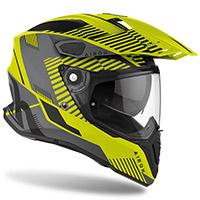 Airoh On-off Commander Boost Helmet Yellow Matt