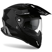 Airoh On-off Commander Helmet Carbon Gloss