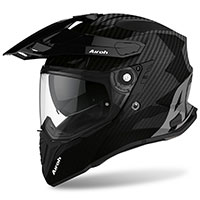 Casco Airoh On-off Commander Carbon Lucido