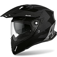 Airoh On-off Commander Helmet Full Carbon Gloss