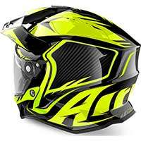 Airoh On-off Commander Helmet Yellow Fluo