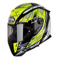 Full Face Helmet Airoh Gp 500 Drift Yellow
