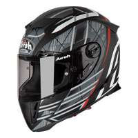 Casco Moto Airoh Gp 500 Drift Nero Opaco