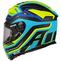 Full Face Helmet Airoh Gp 500 Rival Matt Yellow