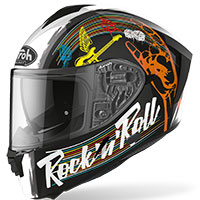 Casco Airoh Spark Rock'n'roll Nero Lucido