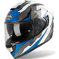 Casque Moto Airoh St 501 Bionic Bleu