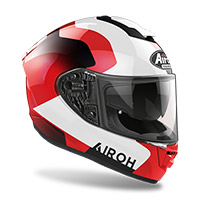 Casco Airoh St.501 Dock Rosso Donna