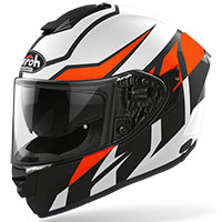 Airoh St 501 Frost Helmet Orange Matt