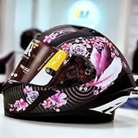 アイロー・ヴァロー ヘルメット マッドブラックピンク