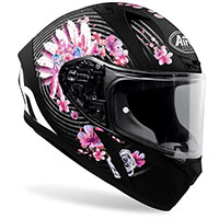 Casco Integrale Airoh Valor Mad Nero Rosa