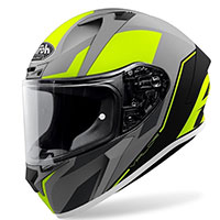 Casco Airoh Valor Wings Giallo Opaco