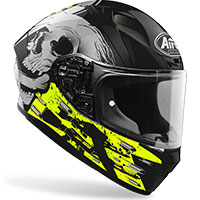 Full Face Helmet Airoh Valor Akuna Yellow Gloss