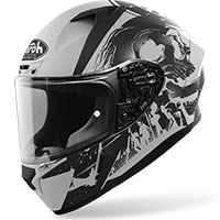 Full Face Helmet Airoh Valor Akuna Grey Matt