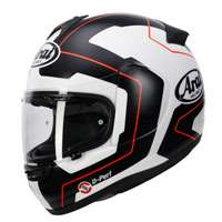 Arai Axcess 3 Pinlock Line Red