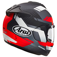 Arai Chaser X Cliff Helmet Black Red