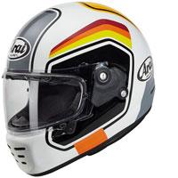 Arai Concept X Number Helmet White