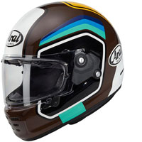 Arai Concept X Number Helmet Brown