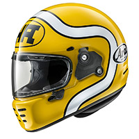 Arai Concept X Ha Helmet Yellow