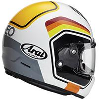 新井コンセプトXナンバーヘルメット ホワイト