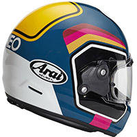 新井コンセプトXナンバーヘルメット ブルー