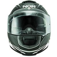 NOS NS 6台風ヘルメットマットホワイト