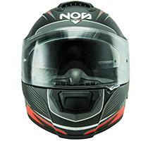 NOS NS 6台風ヘルメットマットレッド