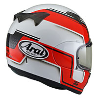 Arai Profile-v Bend White Red